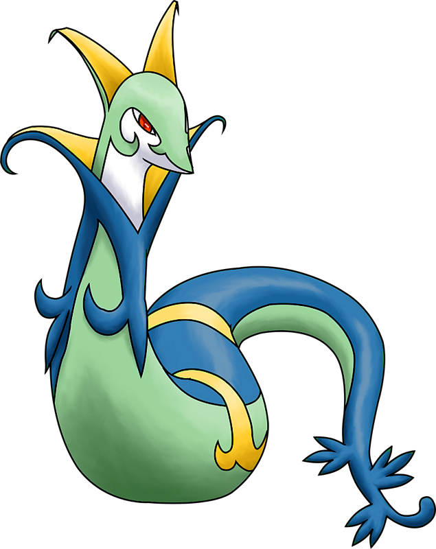 ID: 2497 Pokémon Shiny-Serperior www.pokemonpets.com - Online RPG Pokémon Game