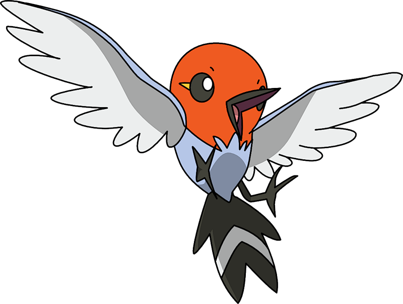 Shiny Fletchling Pok 233 Dex Stats Moves Evolution
