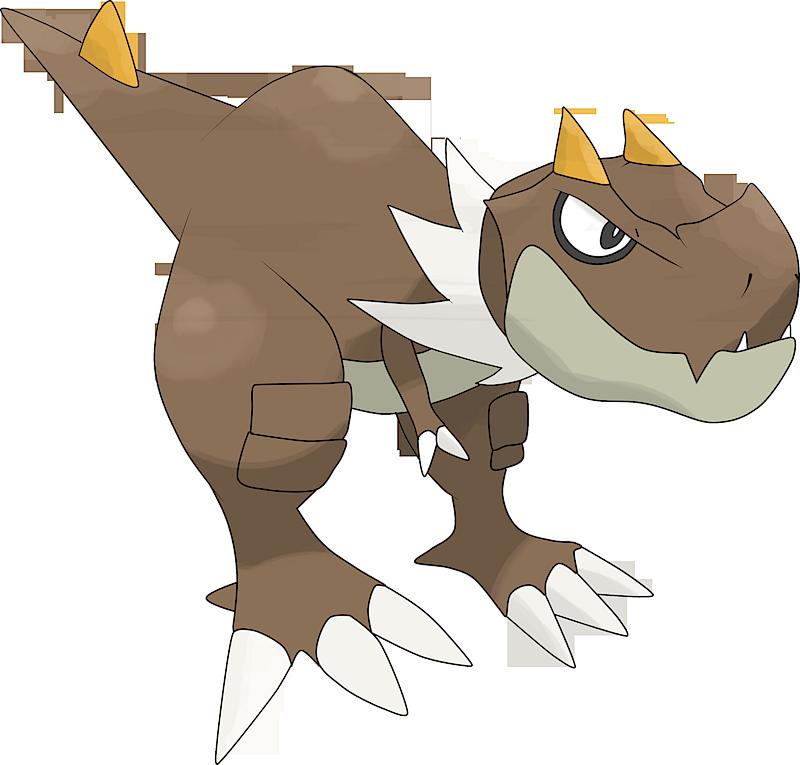 Pokemon 2696 Shiny Tyrunt Pokedex Evolution Moves