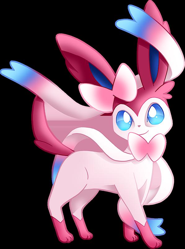 Pokémon Shiny Sylveon, Id: 2700, Class: Shiny - PokemonPets