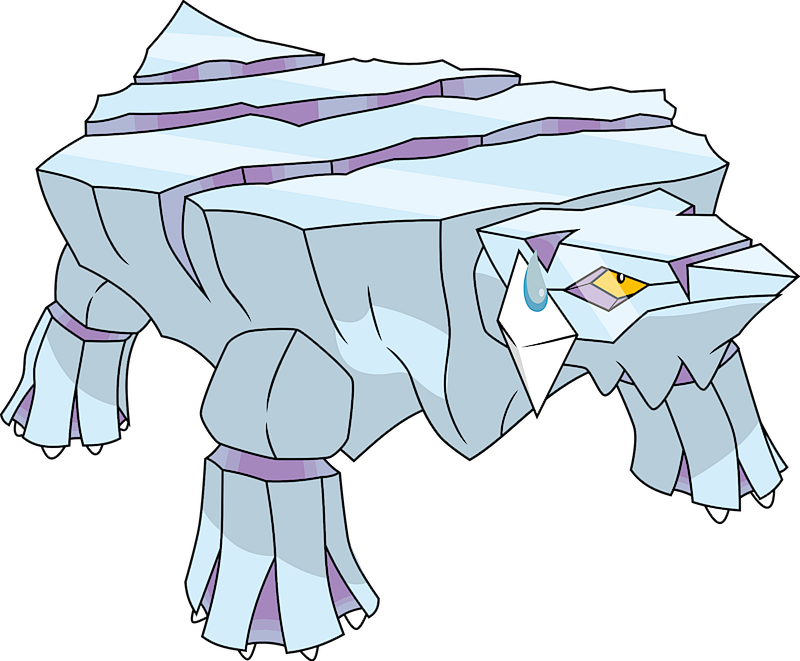 Shiny Avalugg Pok 233 Dex Stats Moves Evolution Locations Amp Other Forms Pok 233 Mon Database