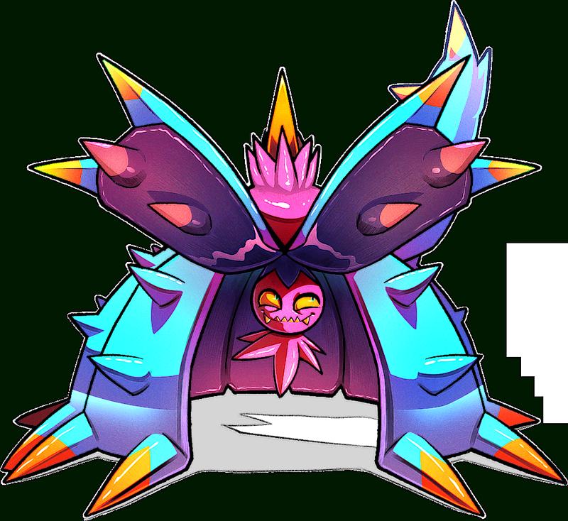 pokemon 2748 shiny toxapex pokedex evolution moves location stats