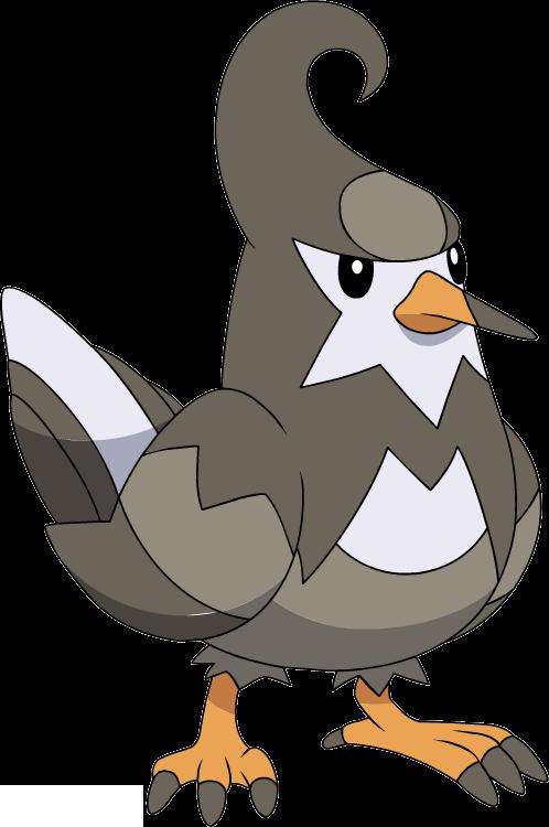 Pokemon starly evolution chart