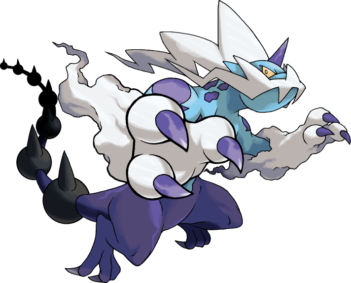 Pokemon 4061 Thundurus Therian Pokedex: Evolution, Moves, Location, Stats