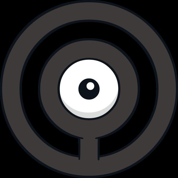 Unown O Pok 233 Dex Stats Moves Evolution Locations