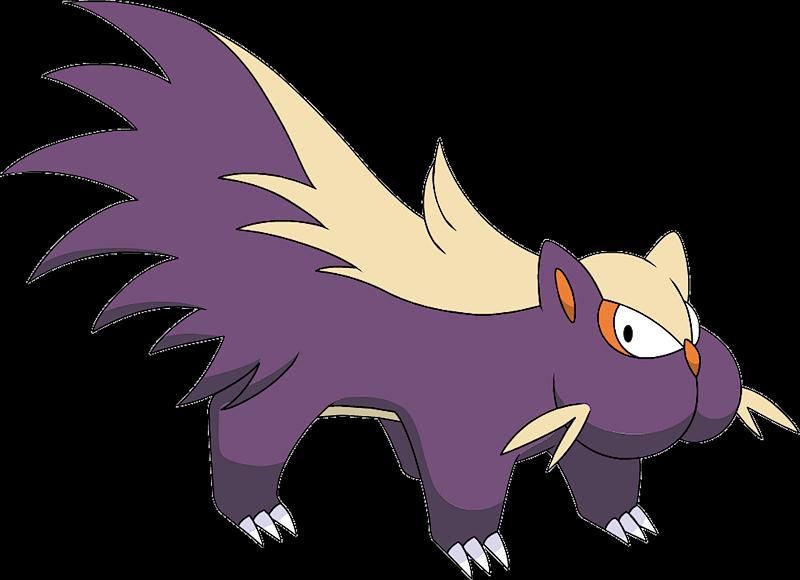 Stunky Pok 233 Dex Stats Moves Evolution Locations Amp Other Forms Pok 233 Mon Database Pokemonpets