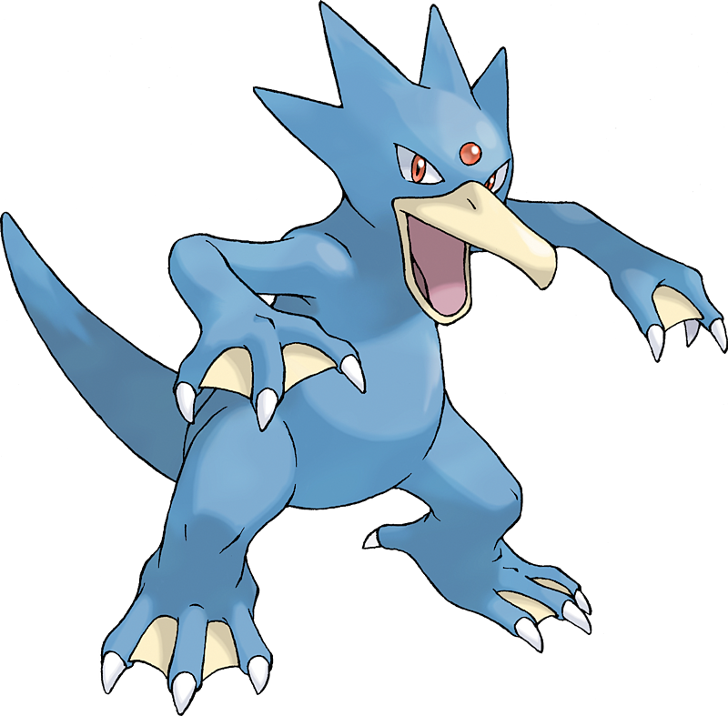 Golduck Pok 233 Dex Stats Moves Evolution Locations Amp Other Forms Pok 233 Mon Database Pokemonpets