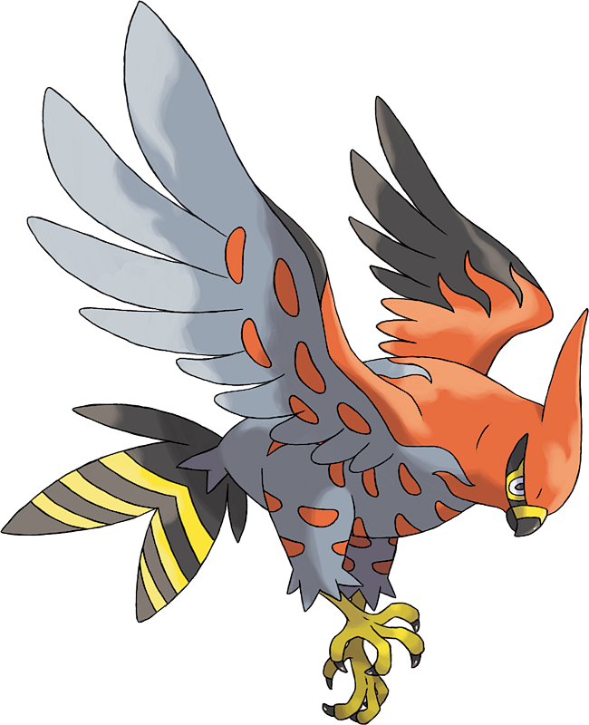 New Scale on the Tail [LS/Social] 663-Talonflame