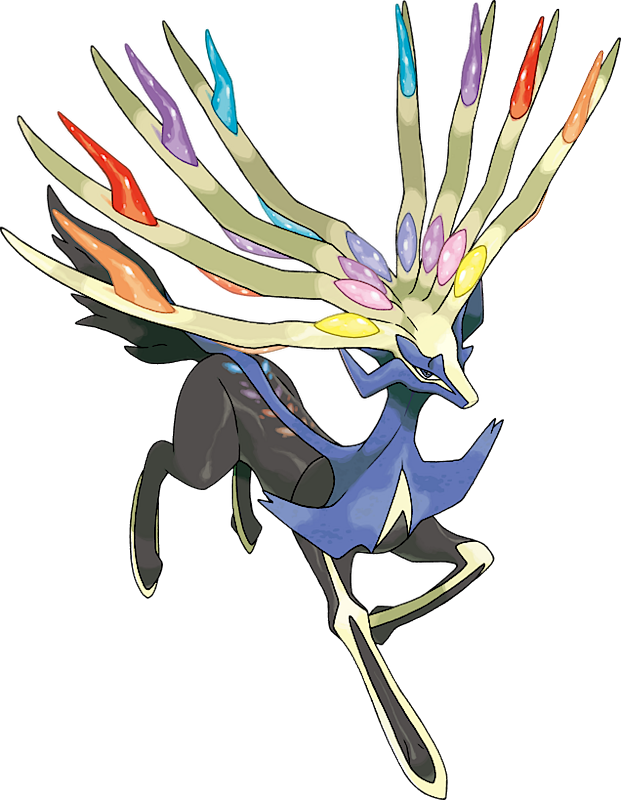 Xerneas Pok 233 Dex Stats Moves Evolution Locations Amp Other Forms Pok 233 Mon Database Pokemonpets