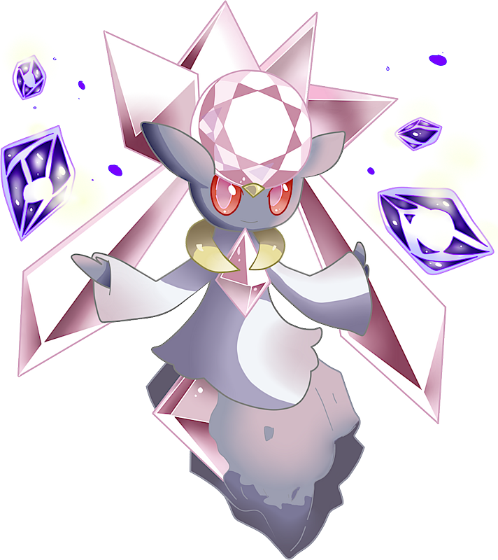Diancie Pok 233 Dex Stats Moves Evolution Locations Amp Other Forms Pok 233 Mon Database Pokemonpets