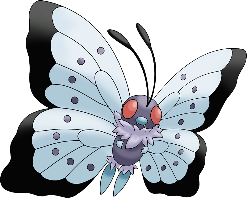 Mega Butterfree Pok 233 Dex Stats Moves Evolution Locations Amp Other Forms Pok 233 Mon Database