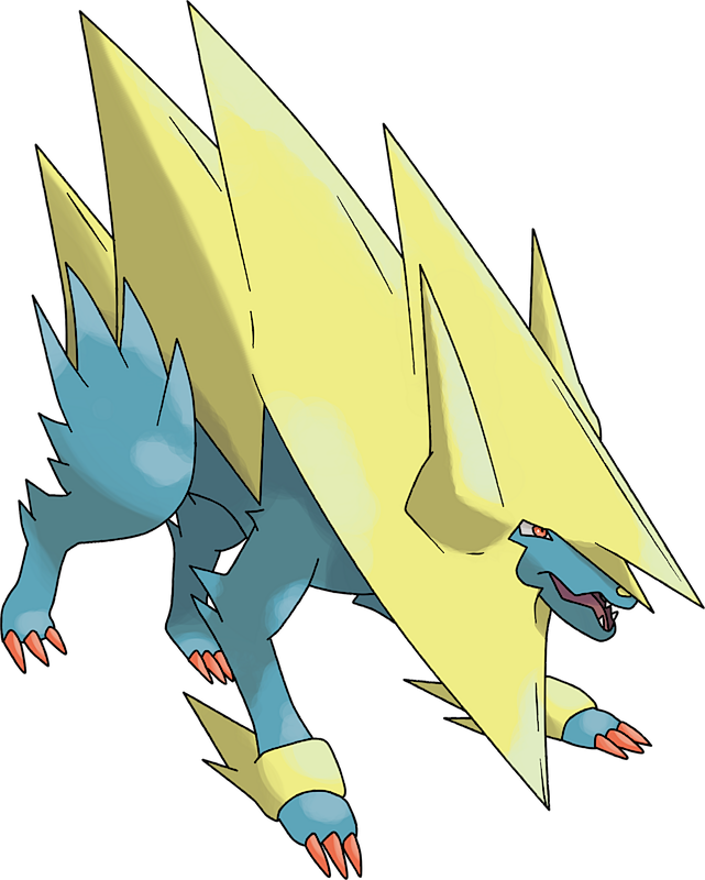 Pokemon 8310 Mega Manectric Pokedex: Evolution, Moves, Location, Stats