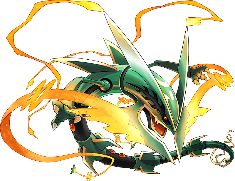 mega rayquaza pok233dex stats moves evolution locations
