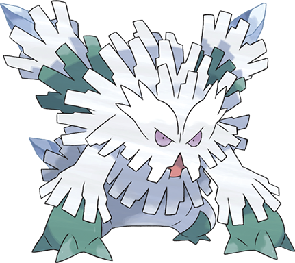Pokemon 8460 Mega Abomasnow Pokedex Evolution Moves Location Stats