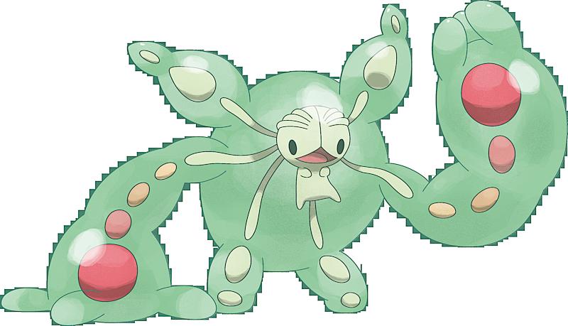 Pokemon Reuniclus poku00e9mon #8579 mega- reuniclus mega artwork