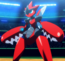 Pokemon 14025 Shiny Scirother Pokedex Evolution Moves