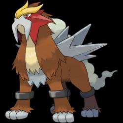 Pokemon 10238 Shiny Mega Entei Frost Pokedex: Evolution, Moves