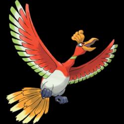 Pokemon 8250 Mega Ho Oh Pokedex: Evolution, Moves, Location, Stats