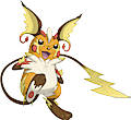 Monster Shiny-Mega-Raichu