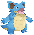 Monster Shiny-Mega-Nidoqueen