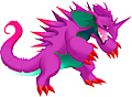 Monster Shiny-Mega-Nidoking