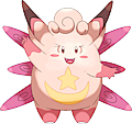 Monster Shiny-Mega-Clefable