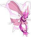 Monster Shiny-Mega-Venomoth