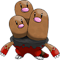 Monster Shiny-Mega-Dugtrio
