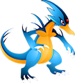 Monster Shiny-Mega-Golduck