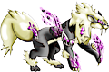 Monster Shiny-Mega-Arcanine-Cyborg