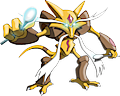 Monster Shiny-Mega-Alakazam
