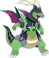 Monster Shiny-Mega-Dragonite-Blade