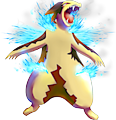 Monster Shiny-Mega-Typhlosion-Frost