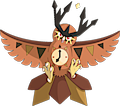 Monster Shiny-Mega-Noctowl-Clock
