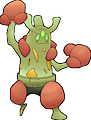 Monster Shiny-Mega-Sudowoodo-Fighter