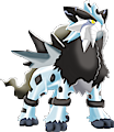 Monster Shiny-Mega-Entei-Frost