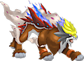 Monster Shiny-Mega-Entei