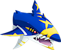 Monster Shiny-Mega-Sharpedo