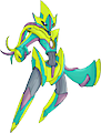 Monster Shiny-Mega-Deoxys