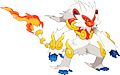 Monster Shiny-Mega-Infernape