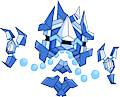 Monster Shiny-Mega-Cryogonal