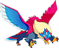 Monster Shiny-Mega-Braviary