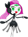 Monster Shiny-Mega-Meloetta-Pirouette