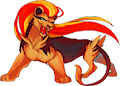 Monster Shiny-Mega-Pyroar-F