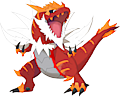 Monster Shiny-Mega-Tyrantrum
