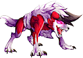 Monster Shiny-Mega-Lycanroc-Night