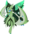 Monster Shiny-Mega-Lurantis