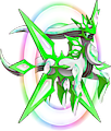 Monster Shiny-Mega-Arceus-Grass