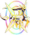 Monster Shiny-Mega-Arceus-Electric