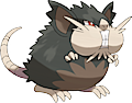 Monster Alolan-Raticate